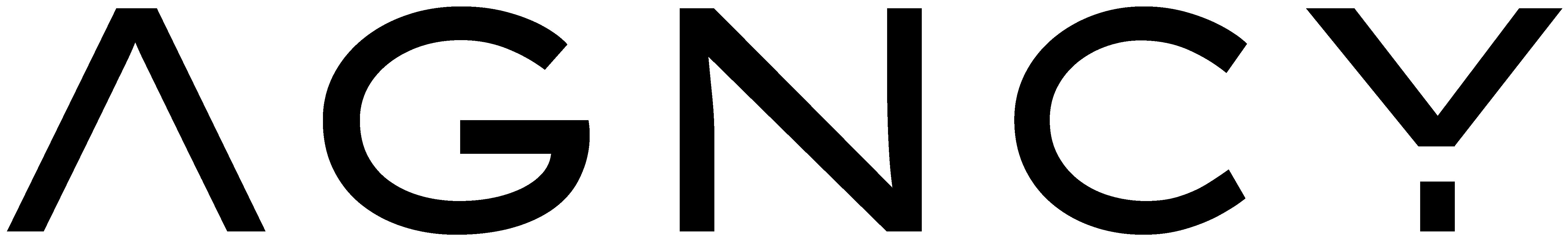 AGNCY footer logo